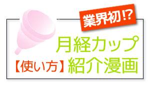 月経カップ紹介漫画